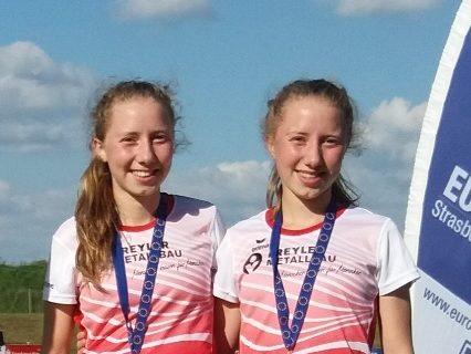 Jasmin und Christine Vollmer starten bei Süddeutschen Meisterschaften über 5000 Meter